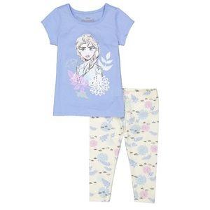 Disney Frozen Elsa Cute leggings outfit
